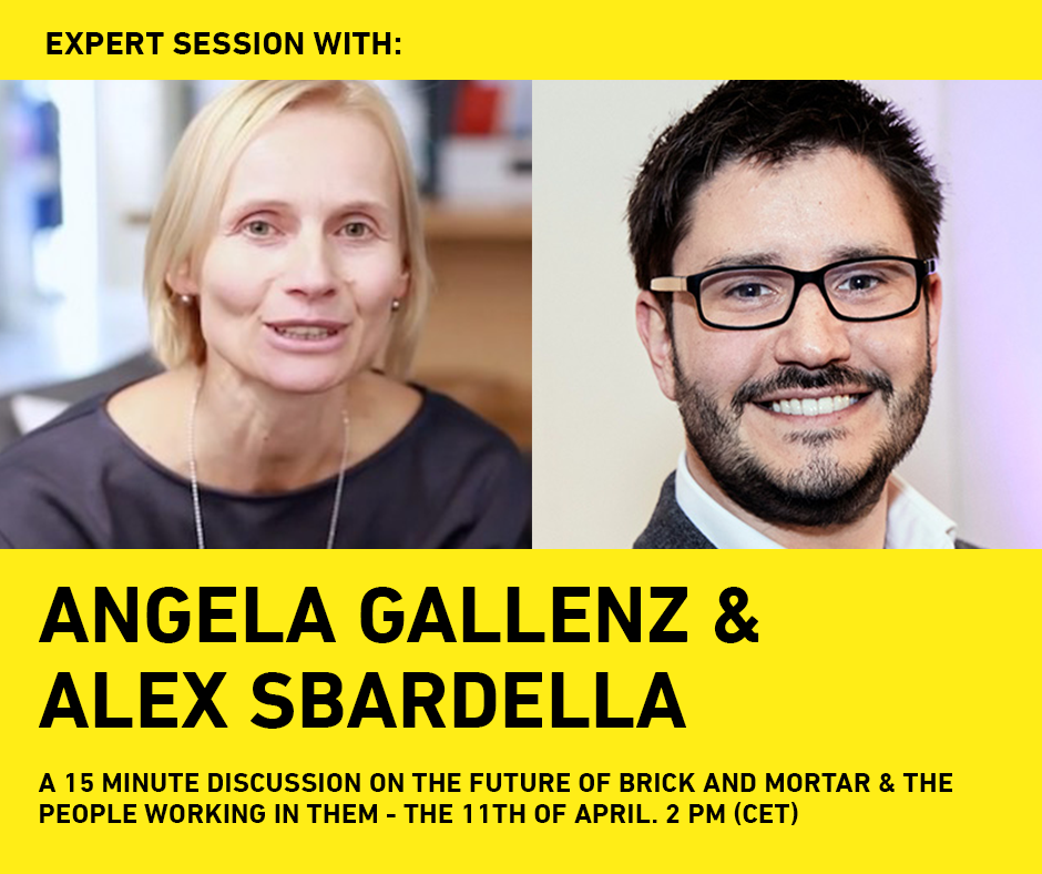 Purposeful Retail Expert Session #3 | Angela Gallenz (H&M) & Alex Sbardella (GDI Creative)